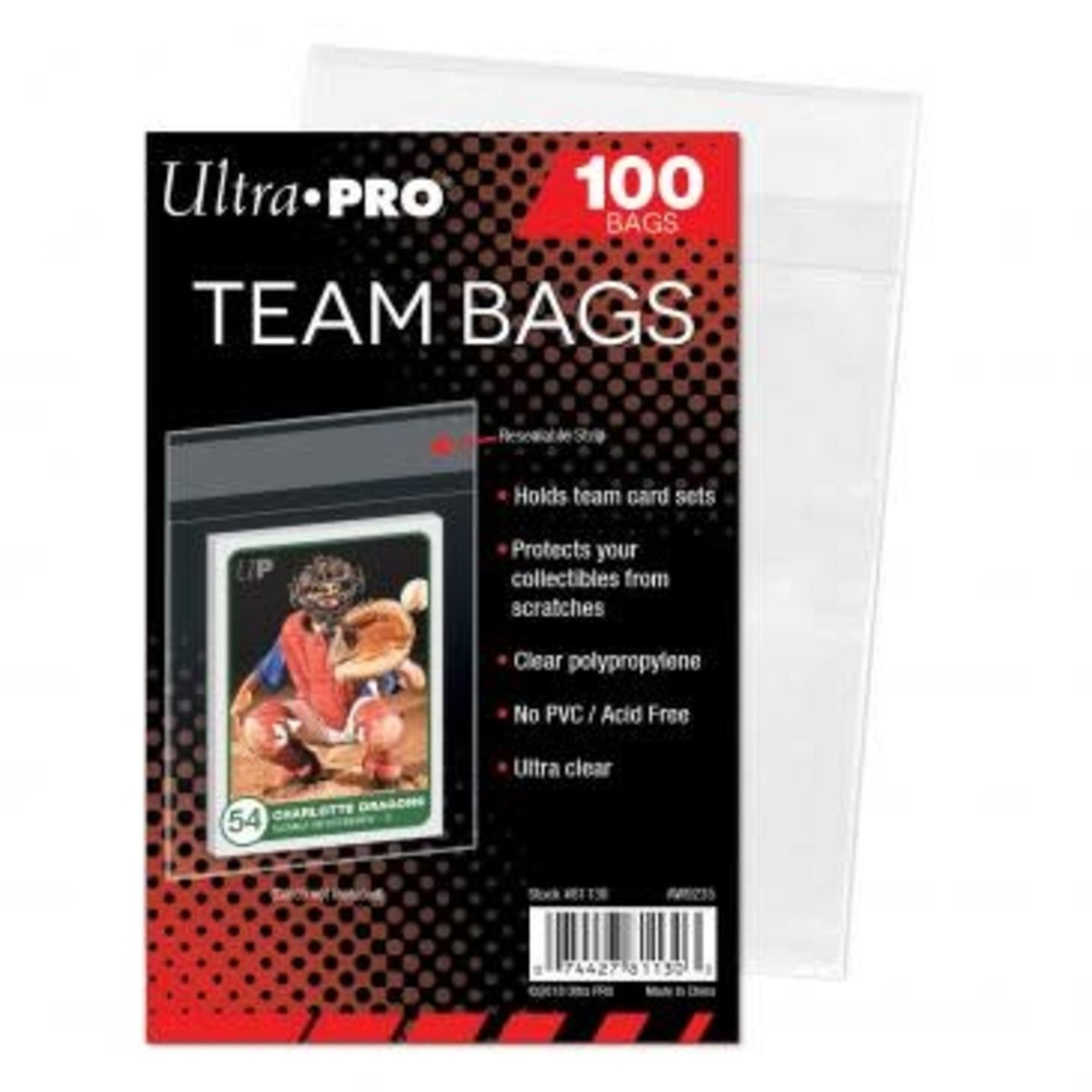 Ultra Pro Team Bags (100 count)