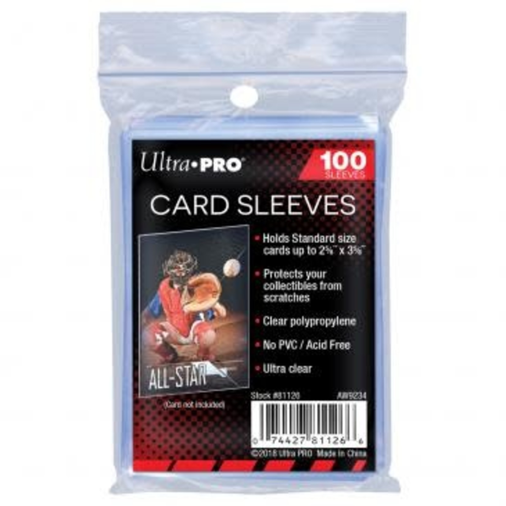 Ultra Pro Soft Sleeves (100 count)