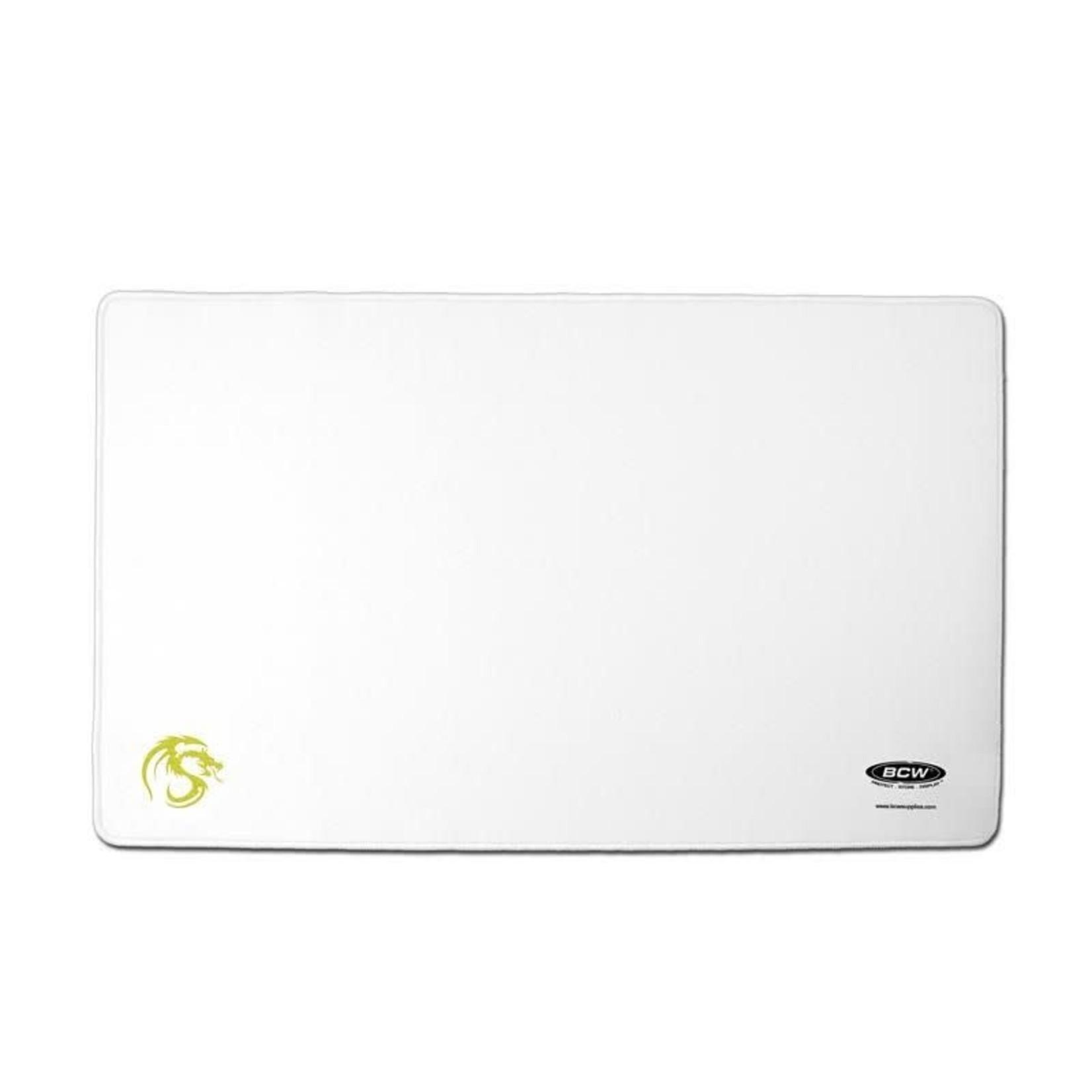 BCW White Playmat