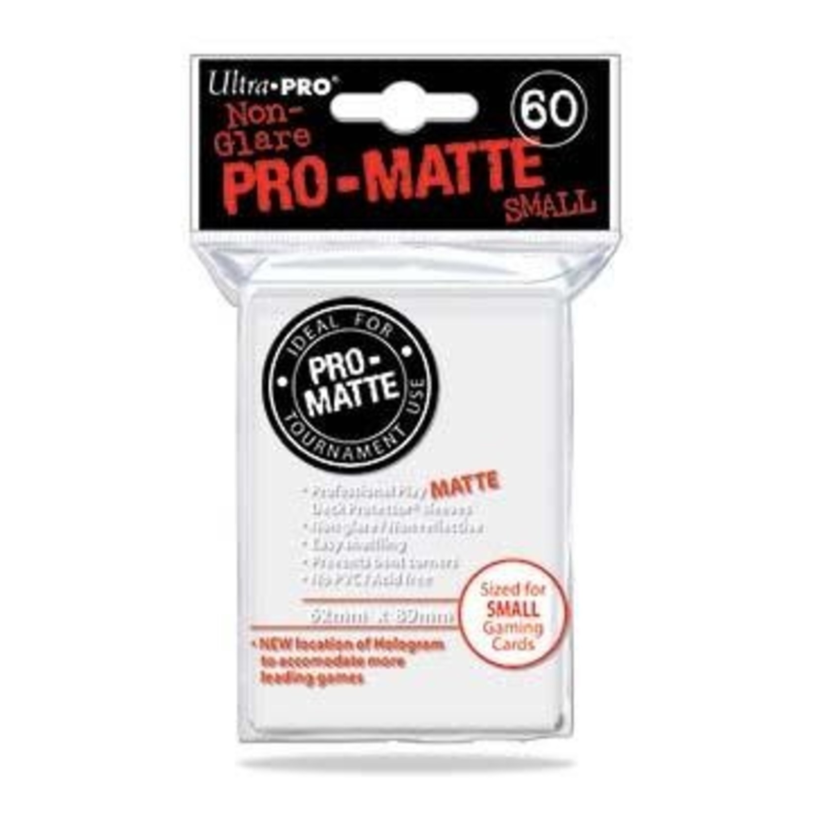 Ultra Pro Matte White (60 count) Small Sleeves