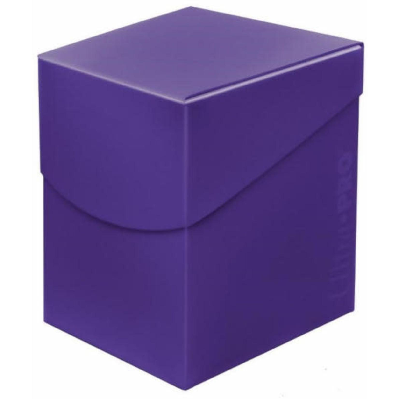 Eclipse Purple 100+ Deck Box