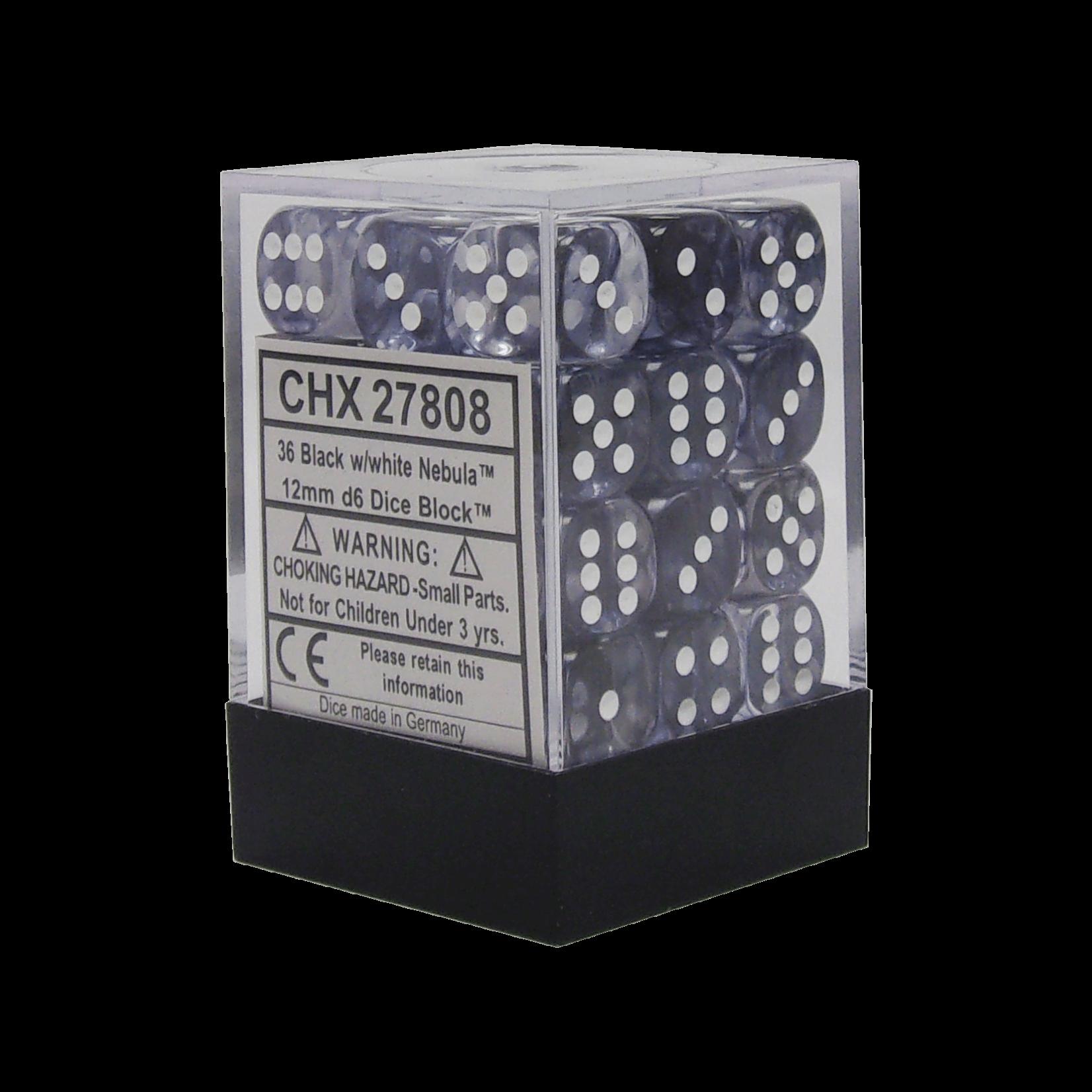 CHX 27808 Nebula Black/White (36 count)