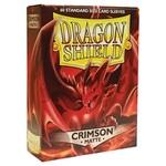 Dragon Shield Matte Crimson (60 count) Standard