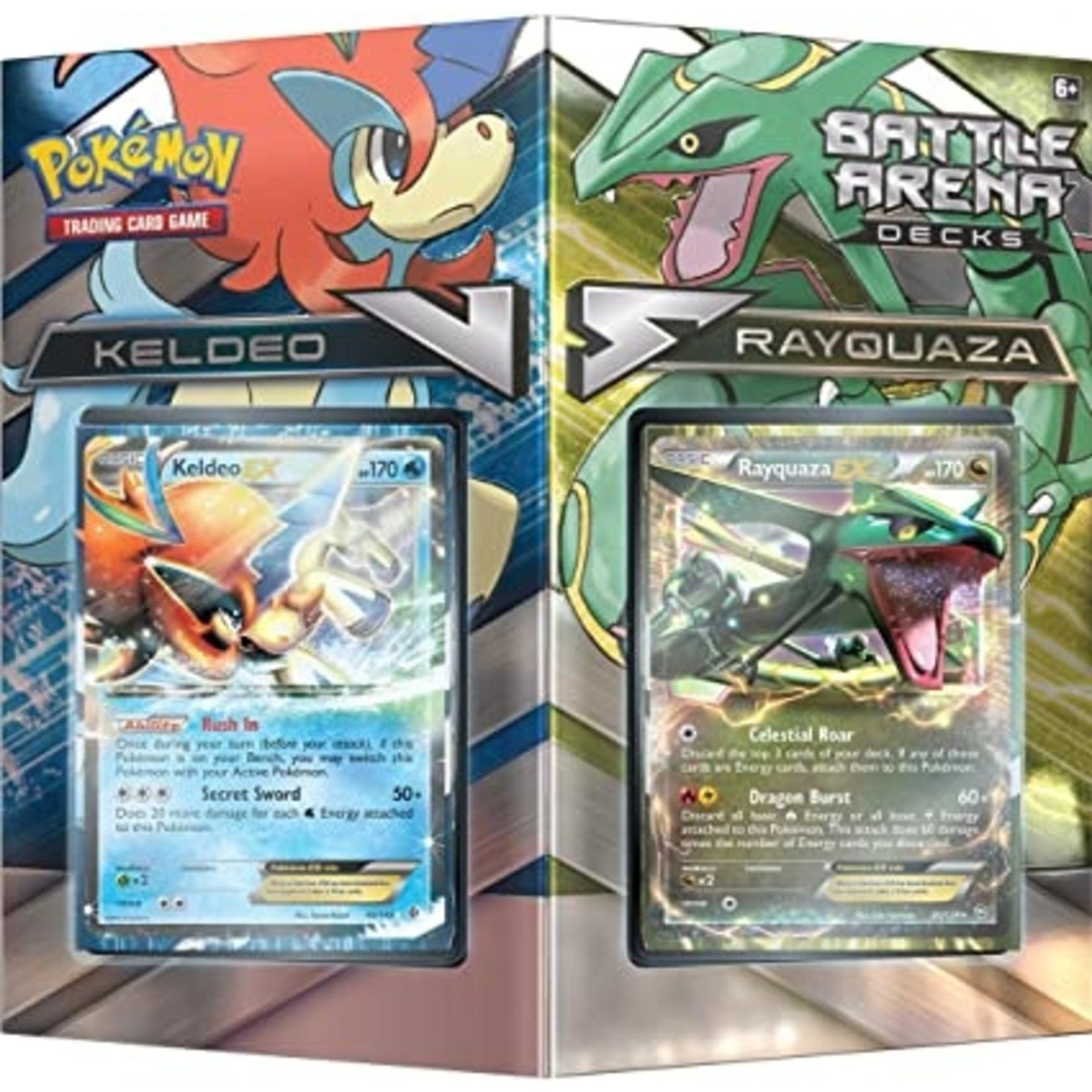 Rayquaza vs Keldo Battle Arena Deck