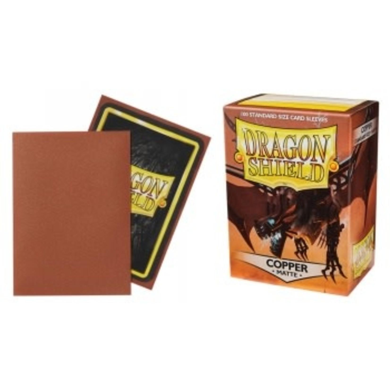 Dragon Shield Matte Copper (100 count) Standard