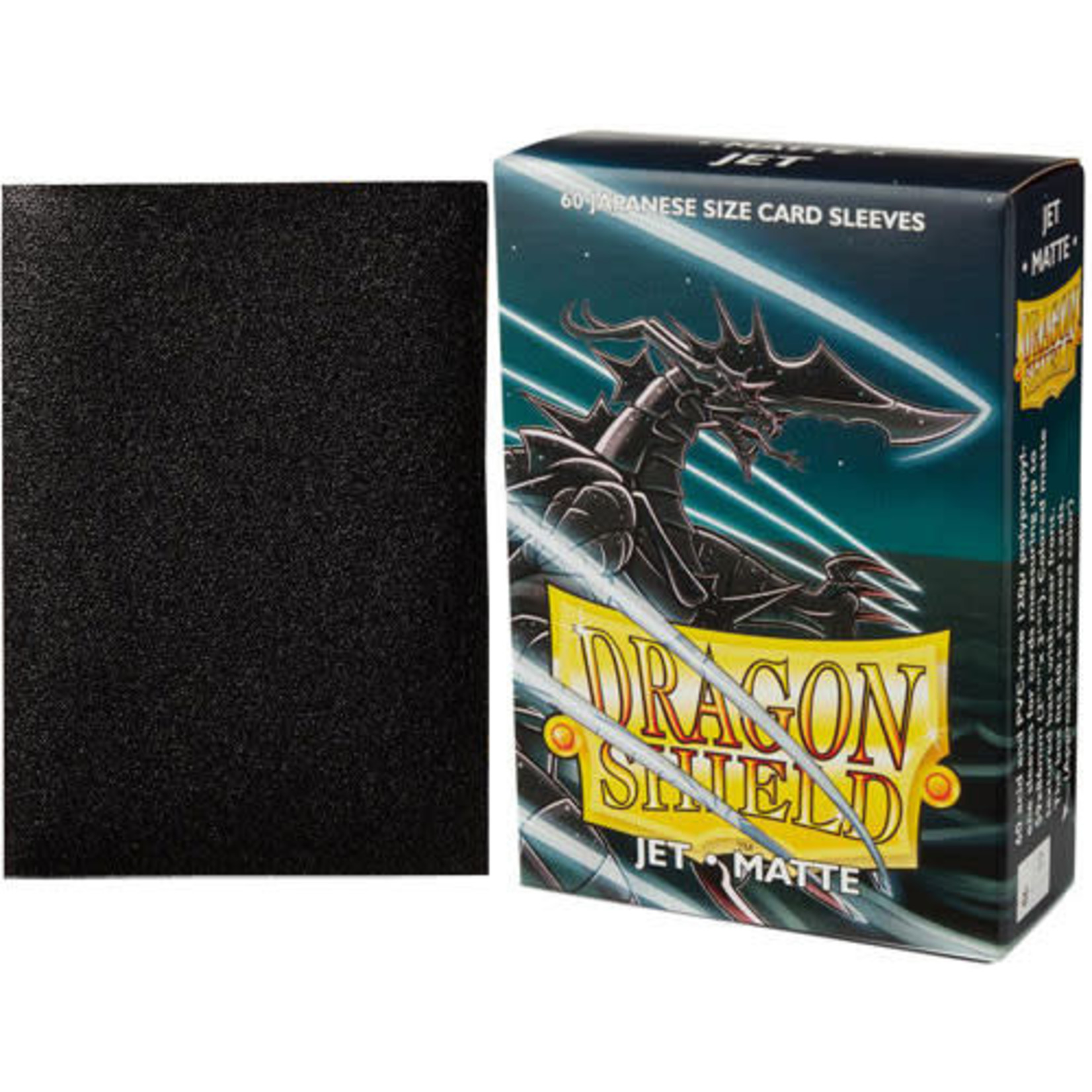 Dragon Shield Matte Jet (60 count) Small