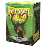 Dragon Shield Matte Lime (100 count) Standard