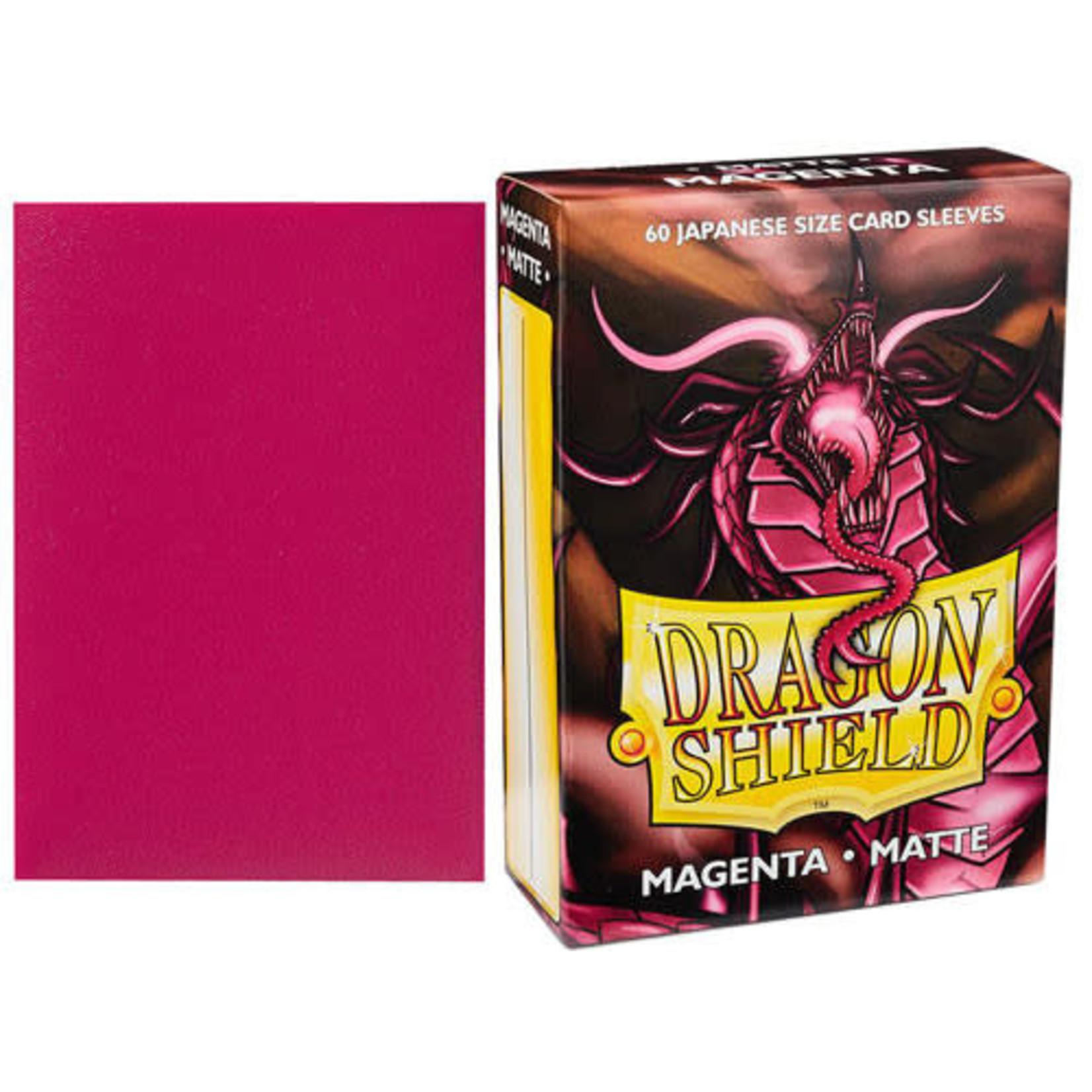 Dragon Shield Matte Magenta (60 count) Small