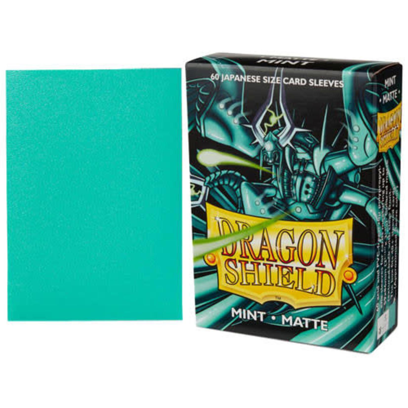 Dragon Shield Matte Mint (60 count) Small