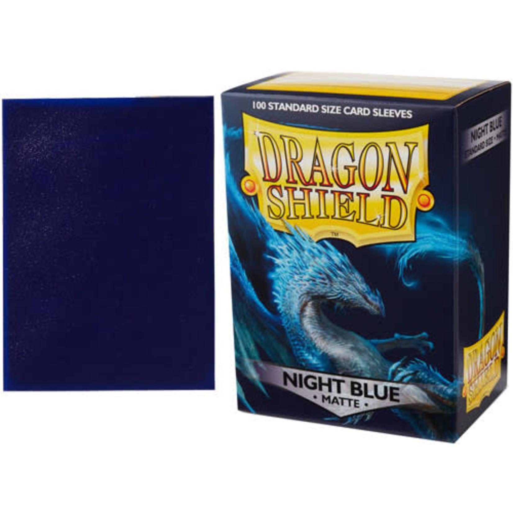 Dragon Shield Matte Night Blue (100 count) Standard