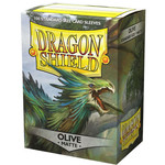 Dragon Shield Matte Olive (100 count) Standard