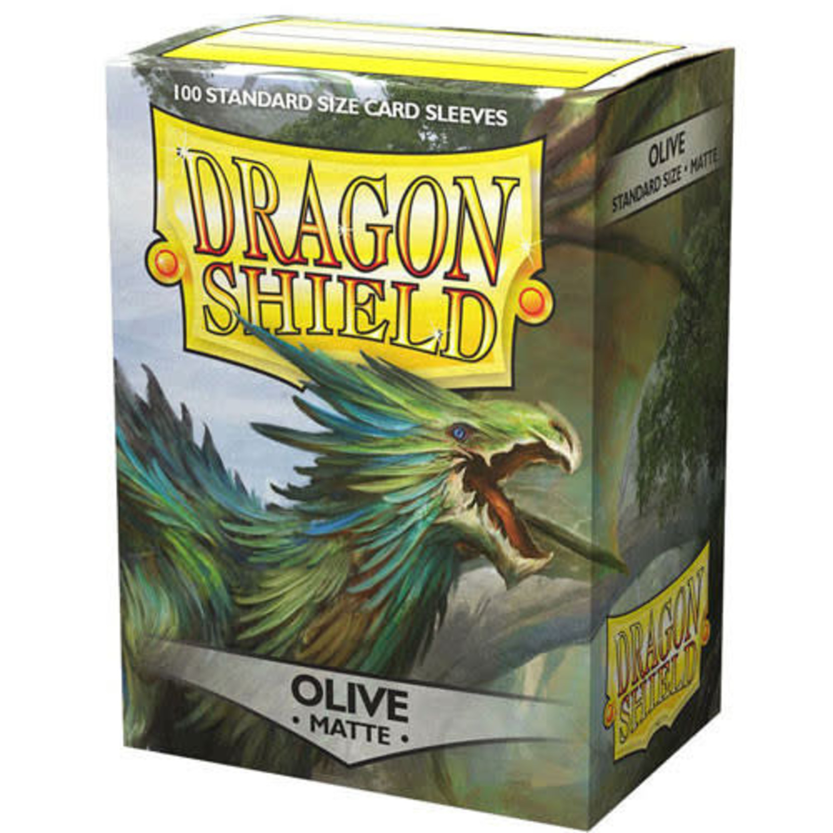 Dragon Shield Matte Olive (100 count) Standard