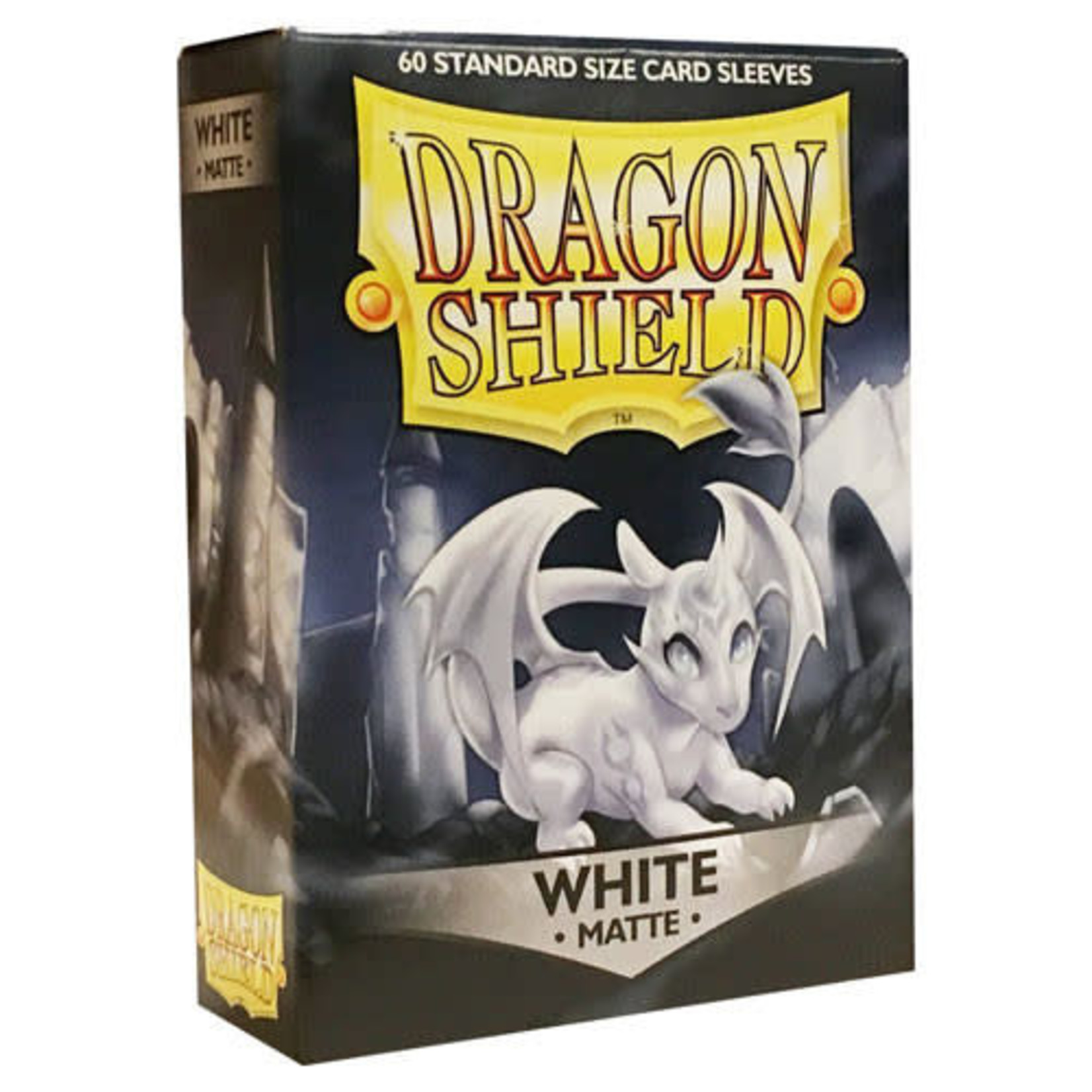 Dragon Shield Matte White (60 count) Small