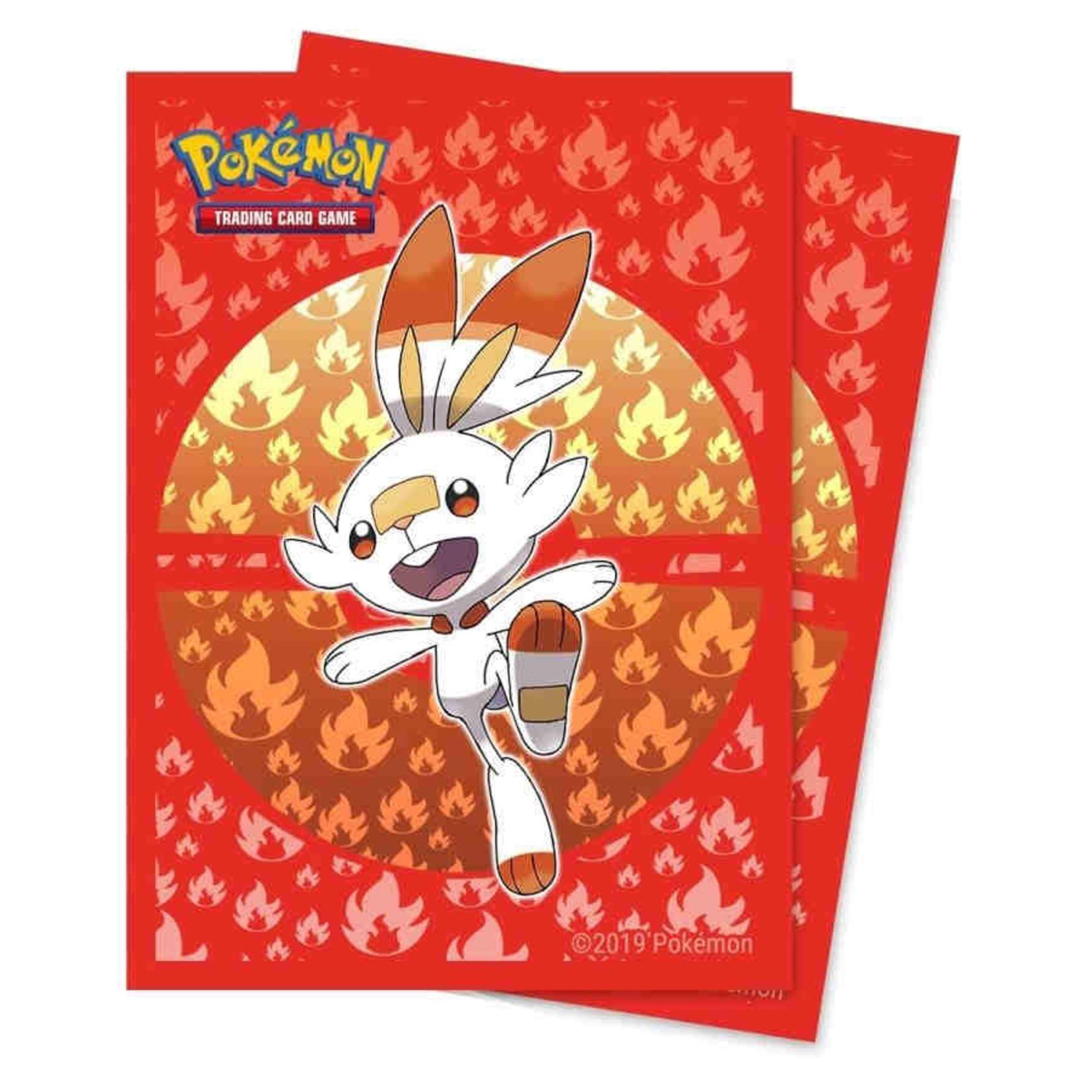 Pokemon Cinderace Sleeves (65 count)