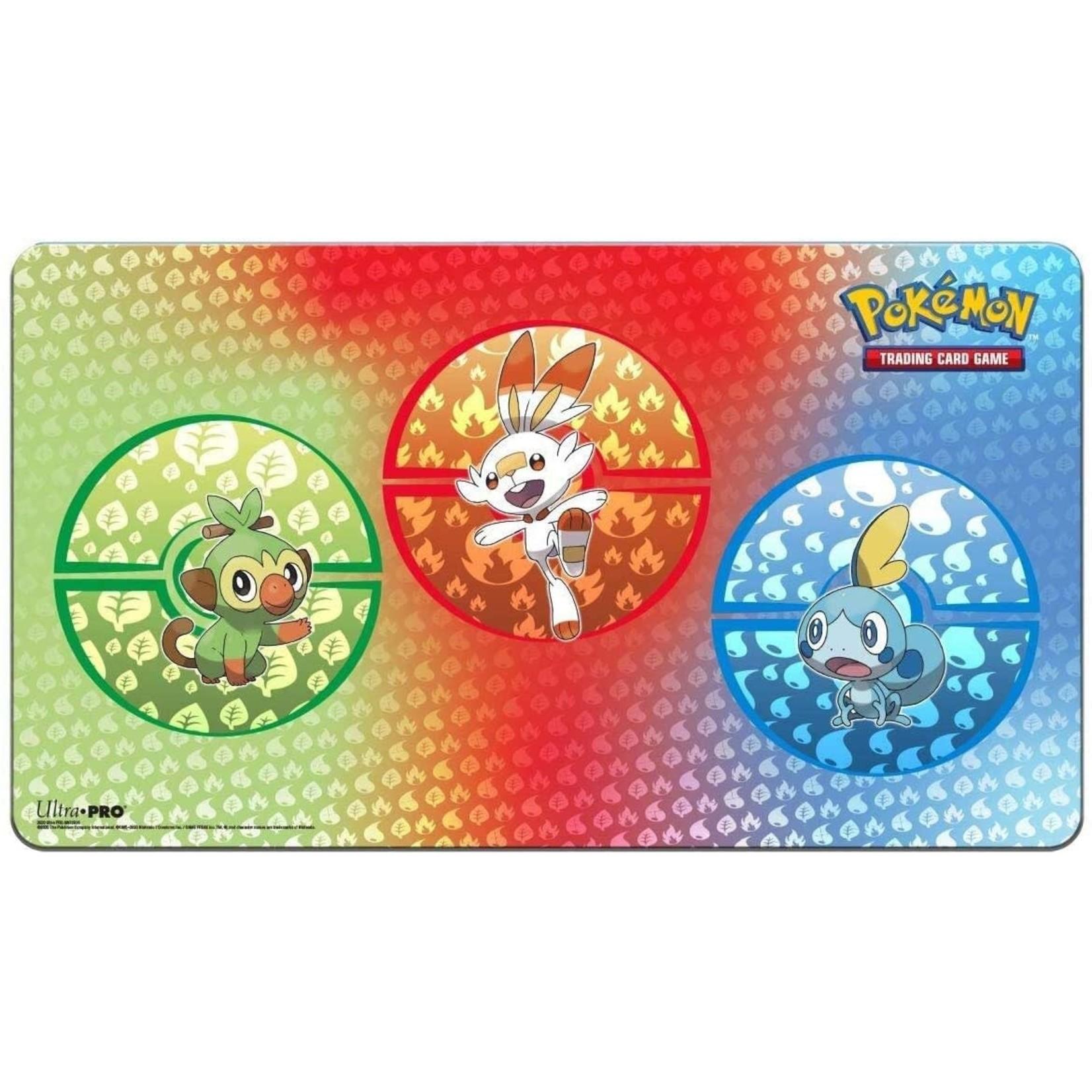 Pokemon Galar Starter Playmat