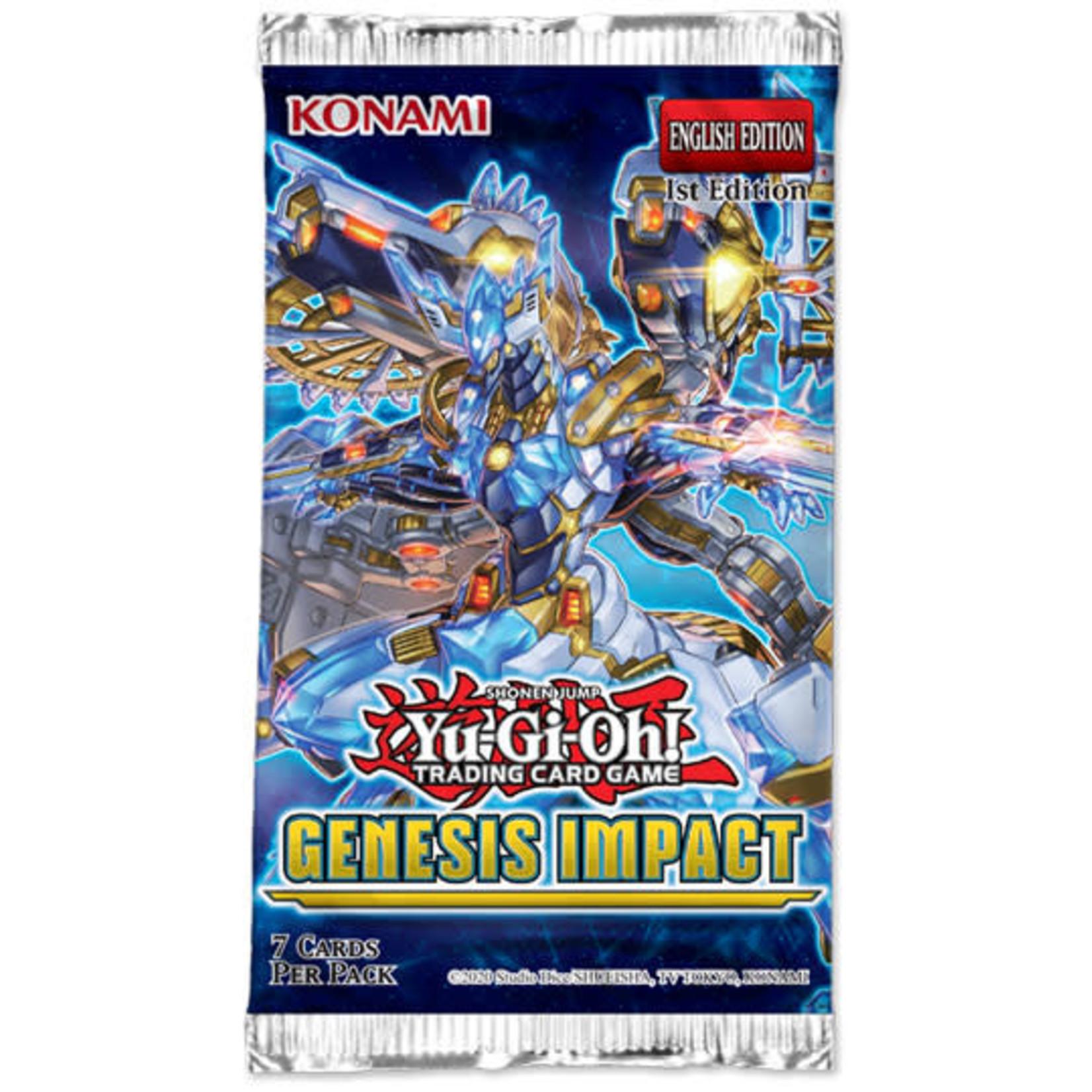 Konami Genesis Impact Booster Pack