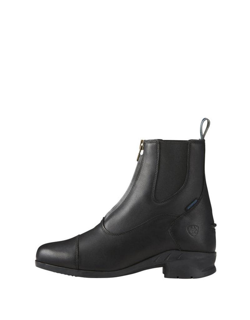 Ariat Heritage Paddock Boot Black Ladies Zip