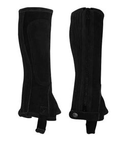 Perri's Child's Suede Half Chaps Zip