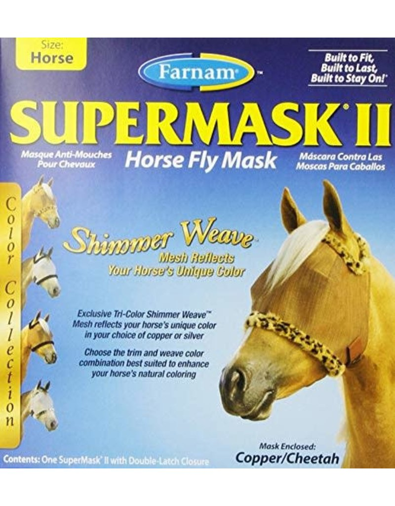 Farnam Supermask II Shimmer Weave without Ears