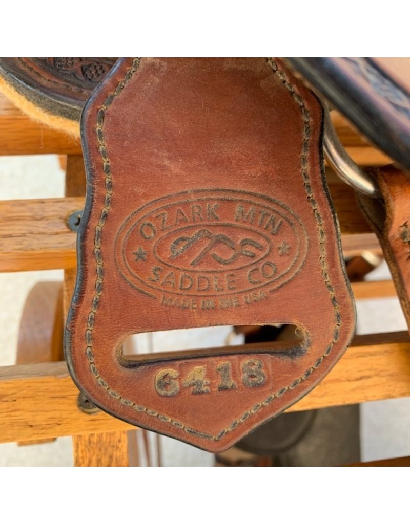 "Ozark Mountain Endurance Saddle 16"" FQHB"