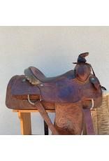 "Courts Roping Saddle 15"" FQHB"