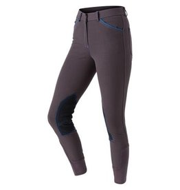 Royal Highness Ladies Euroseat Knee Patch Piped Breech