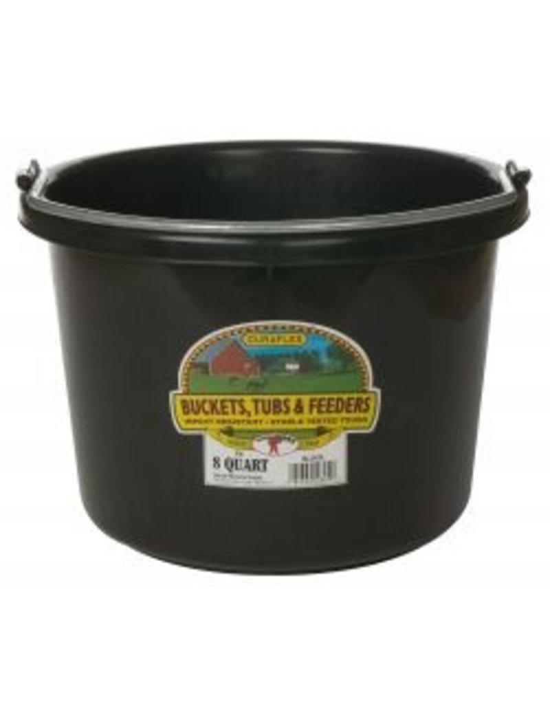 Miller Manufacturing P-8-TEAL 8-Quart Plastic Buckets Teal