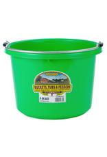 Miller 8 Quart Round Plastic Bucket