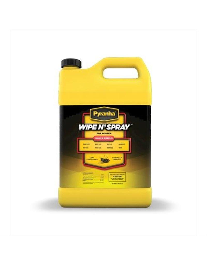 Pyranha Wipe N' Spray Fly Spray