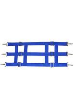 Stall Guard 3 Slot Poly Web Blue