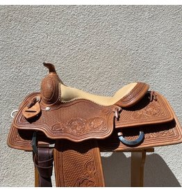 "Cactus Saddlery Reining Saddle 16.5""  Full Quarter Horse Bars"