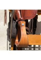 "Custom Morrison Roping Saddle 17"" FQHB"