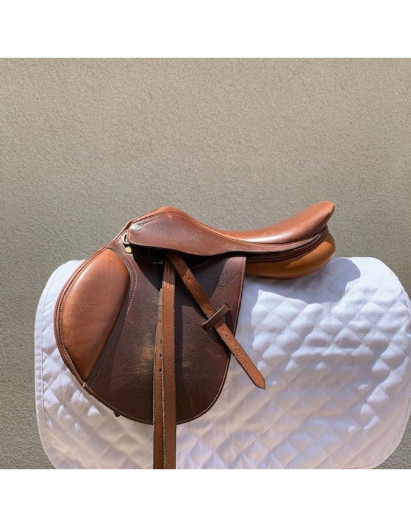 "Pessoa Rodrigo Pony Jump Saddle 15"" Seat Wide Pony Tree"