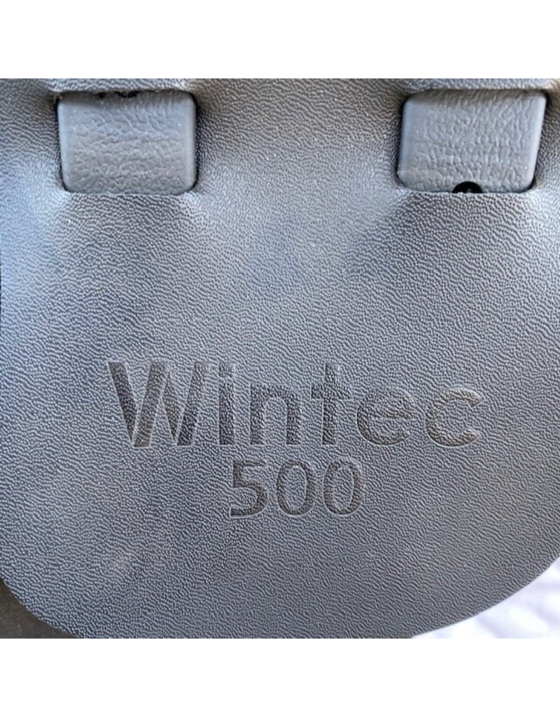 "Wintec 500 Brown All Purpose 17.5"" Seat XCH Med Gullet"