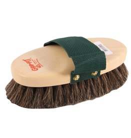 #93 Pro-Body Oval Horse Hair Soft Brush with Strap