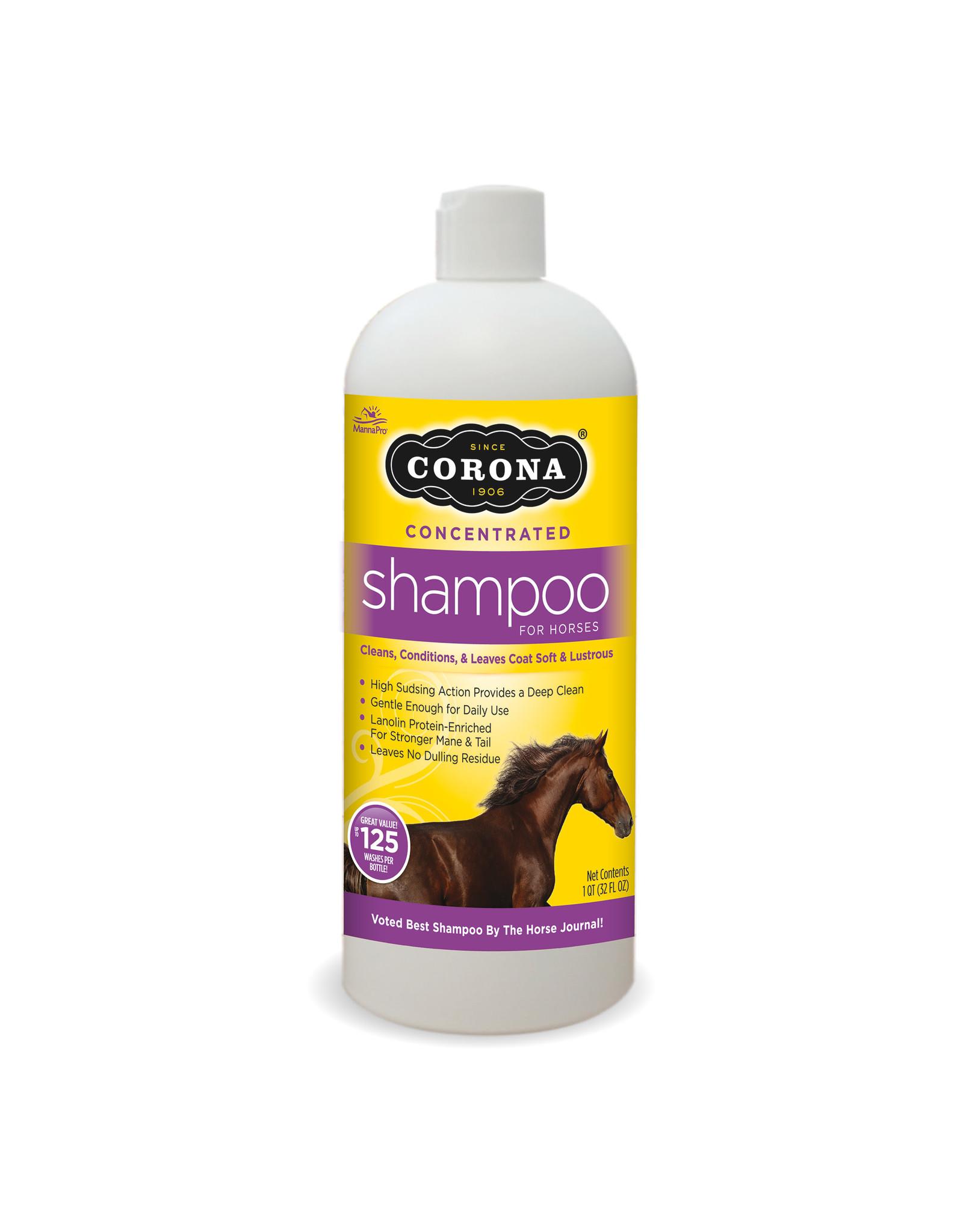 Manna Pro Corona Shampoo Concentrate Quart