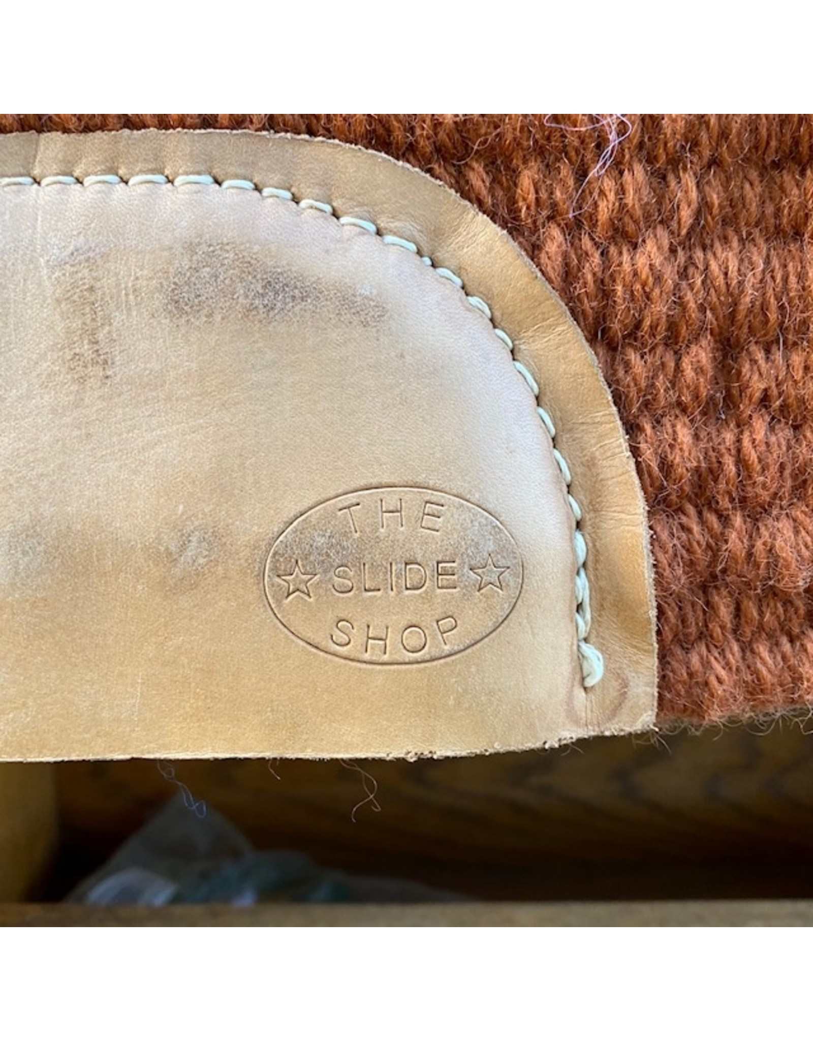 Slide Shop Custom Show/Reining Pad 32x41 Browns & Yellows
