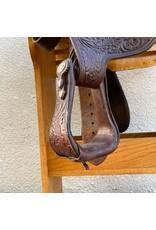 "Circle Y Show Saddle 16.5"" Seat Full Quarter Bars"
