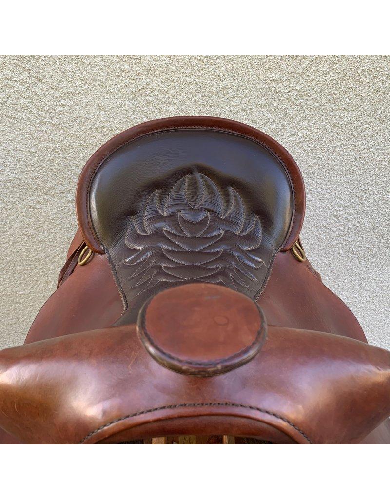 """Tucker High Plains Saddle 15.5"""" Seat Medium Tree"""