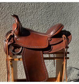 "Buck Ranch Gaited Tree 16.5"" Seat Wide Tree"