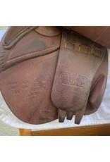 "CWD SEO2 Close Contact Jump Saddle 17"" 2L Flap"