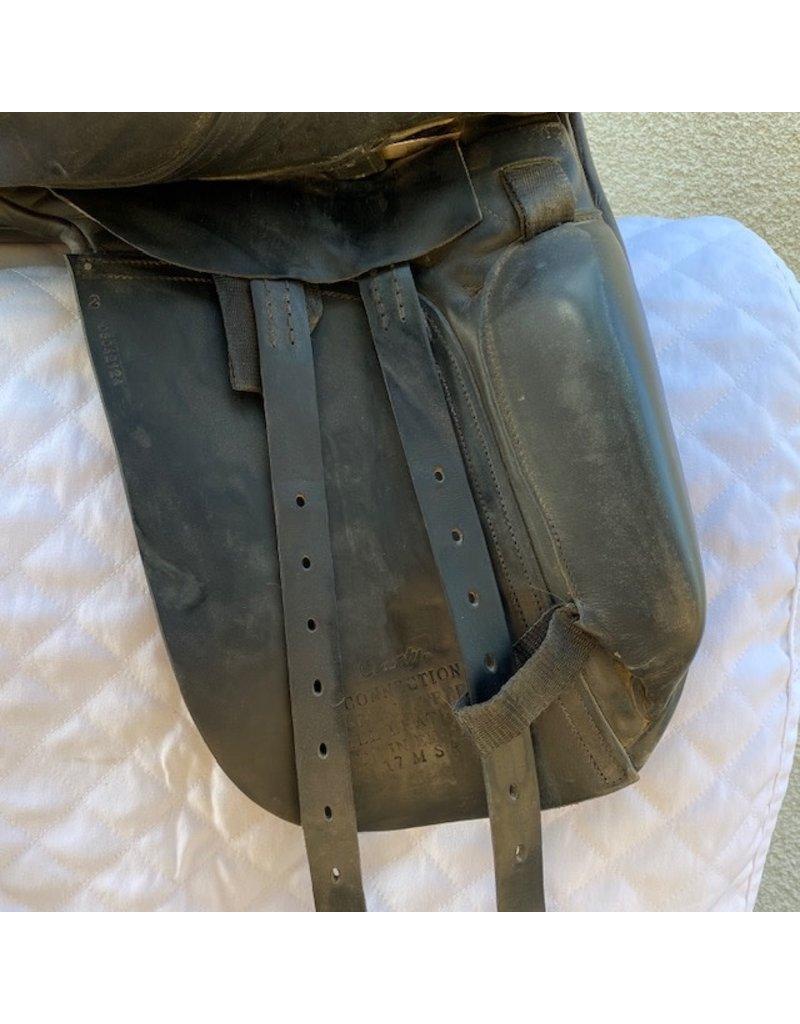 "County Connection Dressage Saddle 17"" Medium Tree"