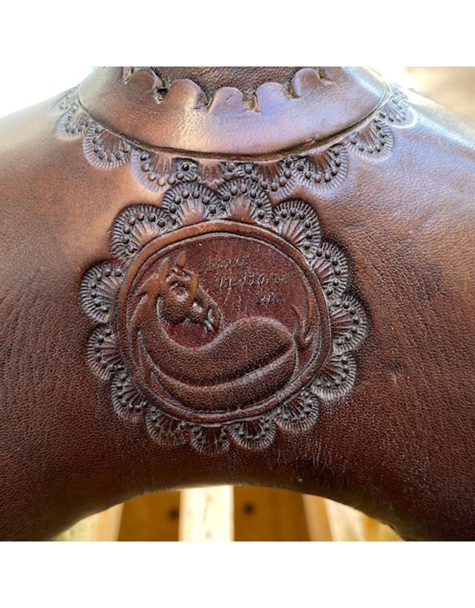 """Black Rhino Barrel Saddle 14.5"""" Full Quarter Bars"""