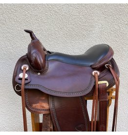 "Tex Tan Flex Gaited Trail Saddle 17"" Seat FQHB"