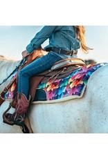 Kaleidoscope Western Saddle Pad  Pony 23 X 23