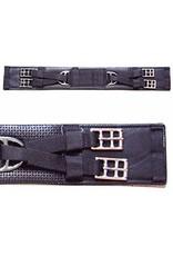 Intrepid International Girth PVC Dressage Black