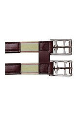 Tory Leather Girth Extender with Elastic