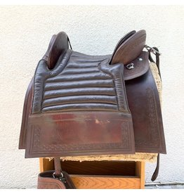 Peruvian Saddle with Pollonera, Jerga, Wool Pad, Tapaderos, Crupper, Cinch