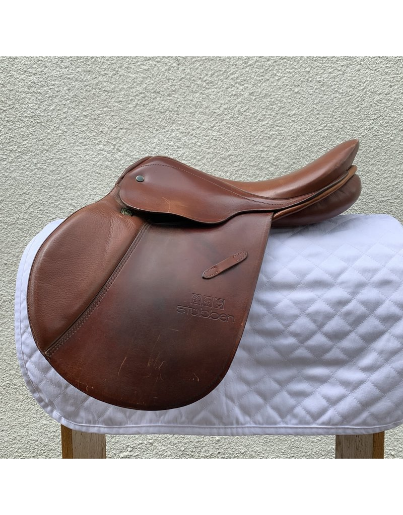 """Stubben Edelweiss Jr. 15"""" Seat 32 Wide Tree """"Pony Saddle"""" comes with Stubben Cover"""