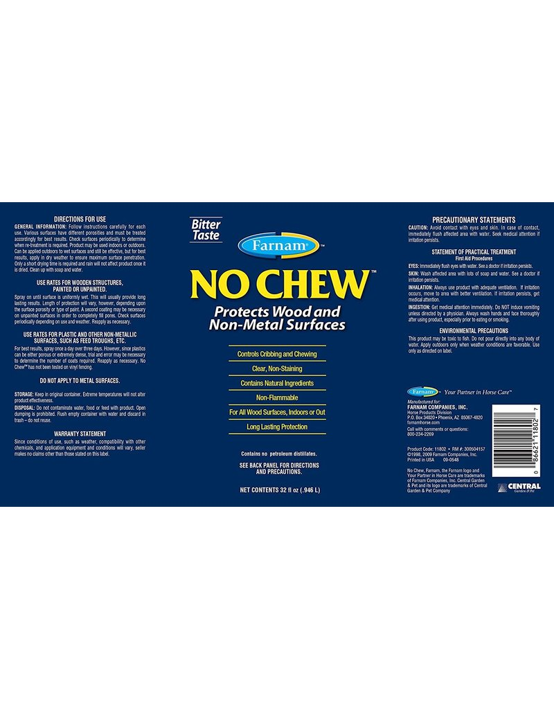 Farnam No Chew Deterrent 32 oz